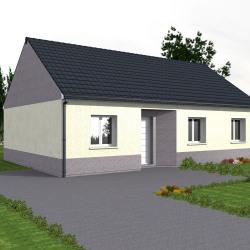 Maison  4 pièces + Terrain  494 m² Biville-sur-Mer