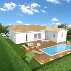 Maison  3 pièces + Terrain  530 m² Mios