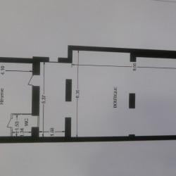Cession de bail Local commercial Paris 15ème 93 m²