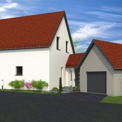 Maison  5 pièces + Terrain  325 m² Ebersmunster