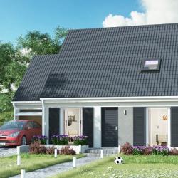 Maison  4 pièces + Terrain  407 m² Mézières-sur-Seine