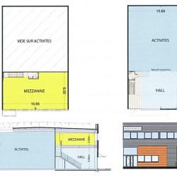 Vente Local d'activités Famars 2329 m²