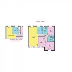 Maison  4 pièces + Terrain  2565 m² Chinon