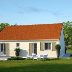 Maison  3 pièces + Terrain  1155 m² Courtois-sur-Yonne