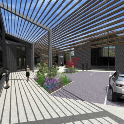 Location Bureau Roncq 1600 m²