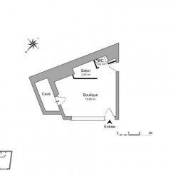 Location Local commercial Thonon-les-Bains 23 m²