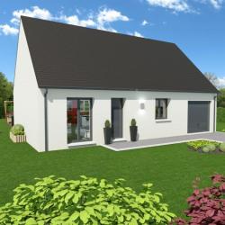 Maison  4 pièces + Terrain  1068 m² Saint-Valery-sur-Somme