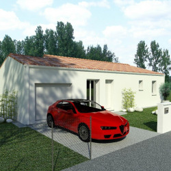 Maison  4 pièces + Terrain  500 m² Fléac