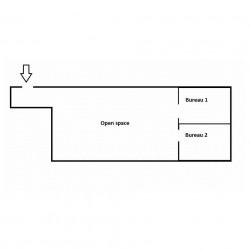 Location Bureau Saint-Grégoire 108 m²