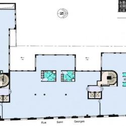 Location Bureau Paris 9ème 2796 m²