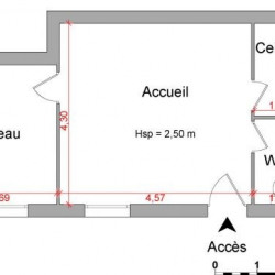 Location Local commercial Montauban 33 m²
