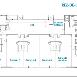 Location Bureau La Rochelle 21 m²