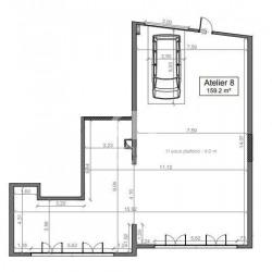 Vente Local d'activités Nice 159,2 m²