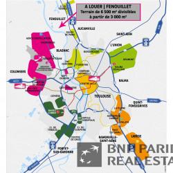 Location Terrain Fenouillet 6500 m²