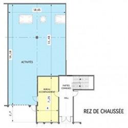 Location Entrepôt Créteil 282 m²