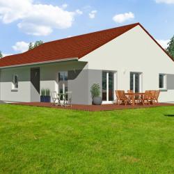 Maison  5 pièces + Terrain  900 m² Crusnes