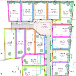Vente Terrain Chevrières 450 m²