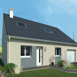 Maison  4 pièces + Terrain  580 m² Grandvillers