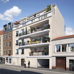Vente Bureau Saint-Ouen 80,04 m²