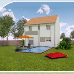 Maison  6 pièces + Terrain  300 m² Goussainville