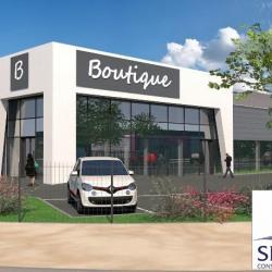 Location Local commercial Aubière 897 m²