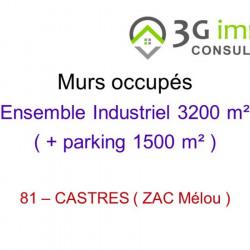 Vente Local commercial Castres 0 m²