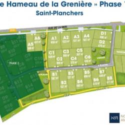 Vente Terrain Granville 475 m²