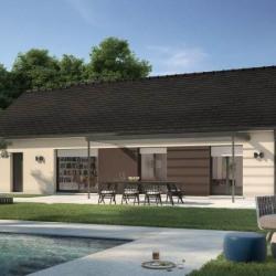Maison  5 pièces + Terrain  896 m² Pont-Hébert