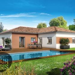 Maison  4 pièces + Terrain  1170 m² Saint-Béron