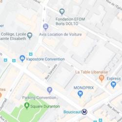 Location Local commercial Paris 15ème 12 m²