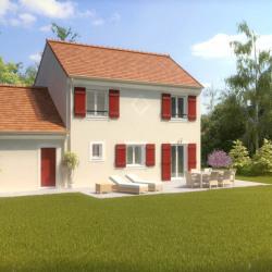 Maison  4 pièces + Terrain  847 m² Magny-en-Vexin