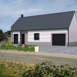 Maison  4 pièces + Terrain  534 m² Le Tréport