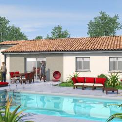Maison  3 pièces + Terrain  888 m² Boé