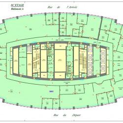 Location Bureau Paris 15ème 7505 m²