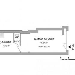 Location Local commercial Caen 24 m²