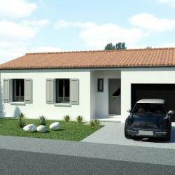 Maison  4 pièces + Terrain  1088 m² Rouffiac