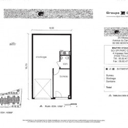 Location Local commercial Montauban 60,17 m²
