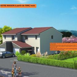 Maison  4 pièces + Terrain  237 m² Sablons