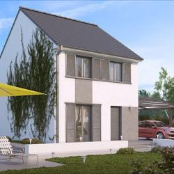 Maison  4 pièces + Terrain  128 m² Garges-Lès-Gonesse