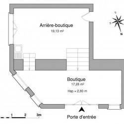 Location Local commercial Honfleur 36 m²