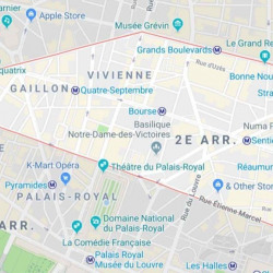 Location Local commercial Paris 2ème 155 m²