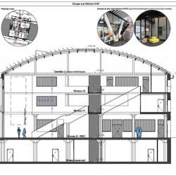Location Bureau Saint-Denis 2810 m²