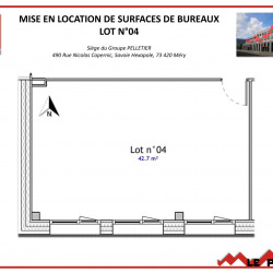Location Bureau Méry (73420)
