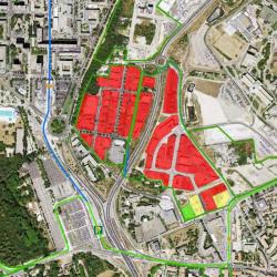 Vente Terrain Montpellier 1500 m²