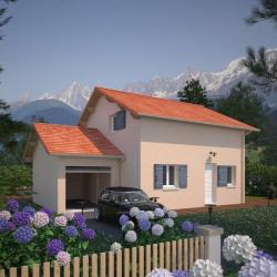 Modèle de maison  à partir de  pièces