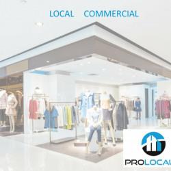 Location Local commercial Barentin 544 m²