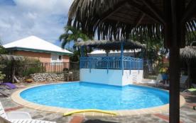 Gîte Ti Figues avec piscine, à 250 mètres du lagon - Saint François