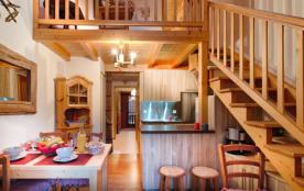 Le Grand Bornand 74 - Secteur village - Résidence Le Château. Appartement 2 pièces mezzanine - 42...