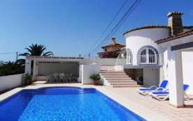 Calpe, Villa, vue mer, piscine privée chauffée, airco, wifi