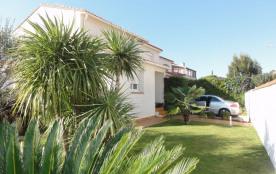 Proche plages sud villa 6 personnes piscine privée terrasse bbq et jardin clos!